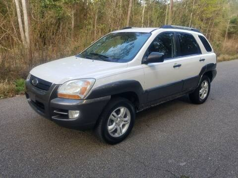 2007 Kia Sportage for sale at J & J Auto Brokers in Slidell LA