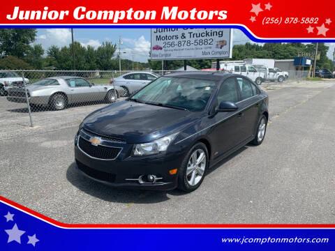 2014 Chevrolet Cruze for sale at Junior Compton Motors in Albertville AL