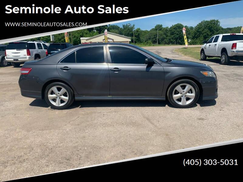 2011 Toyota Camry for sale at Seminole Auto Sales in Seminole OK