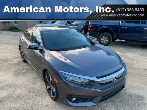 2016 Honda Civic for sale at American Motors, Inc. in Farmington MN