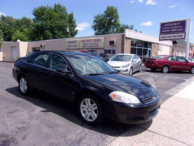 2008 Chevrolet Impala for sale at Gregory J Auto Sales in Roseville MI