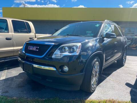 2008 GMC Acadia for sale at McNamara Auto Sales - Kenneth Road Lot in York PA