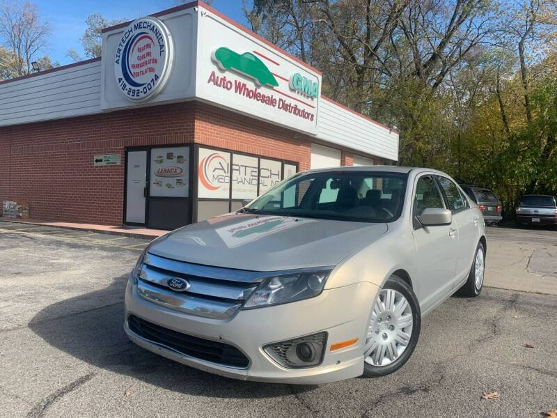2010 Ford Fusion for sale at GMA Automotive Wholesale in Toledo OH