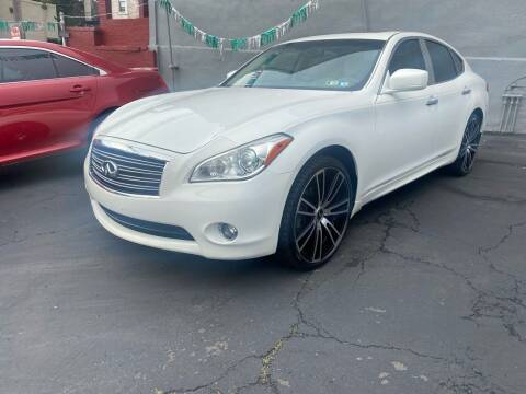 2012 Infiniti M37 for sale at MG Auto Sales in Pittsburgh PA