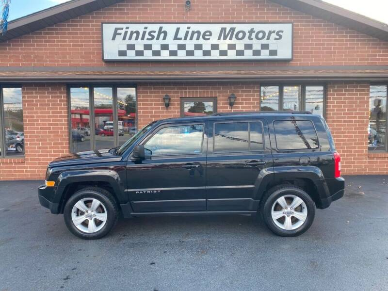 2014 Jeep Patriot for sale at FINISHLINE MOTORS in Canton OH
