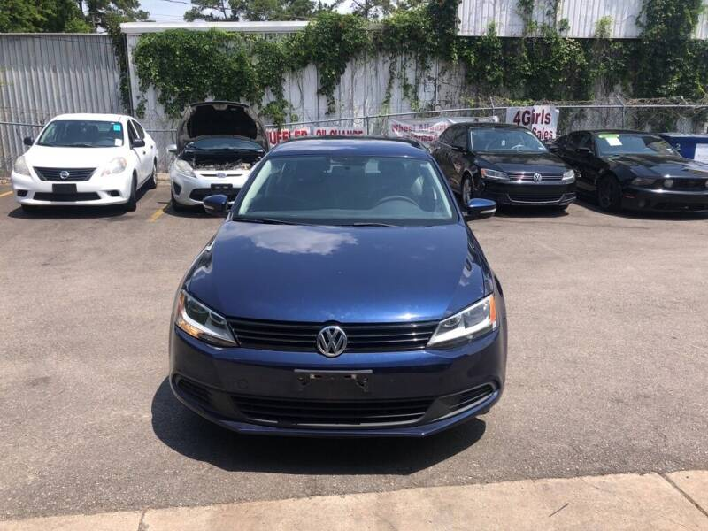 2014 Volkswagen Jetta for sale at 4 Girls Auto Sales in Houston TX