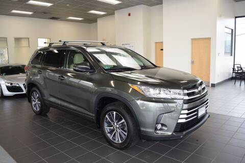 2018 Toyota Highlander for sale at BMW OF NEWPORT in Middletown RI