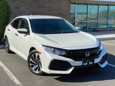 2017 Honda Civic for sale at AKOI Motors in Tempe AZ