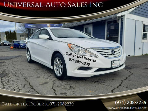2013 Hyundai Sonata for sale at Universal Auto Sales Inc in Salem OR