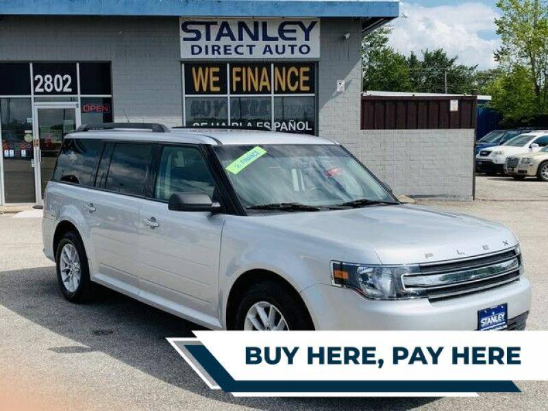 2014 Ford Flex for sale at Stanley Automotive Finance Enterprise - STANLEY FORD ANDREWS in Andrews TX