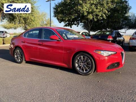 2018 Alfa Romeo Giulia for sale at Sands Chevrolet in Surprise AZ