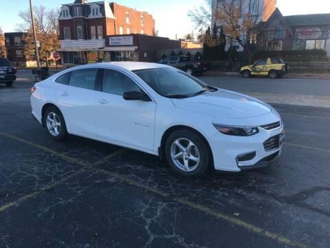 2016 Chevrolet Malibu for sale at DC Auto Sales Inc in Saint Louis MO