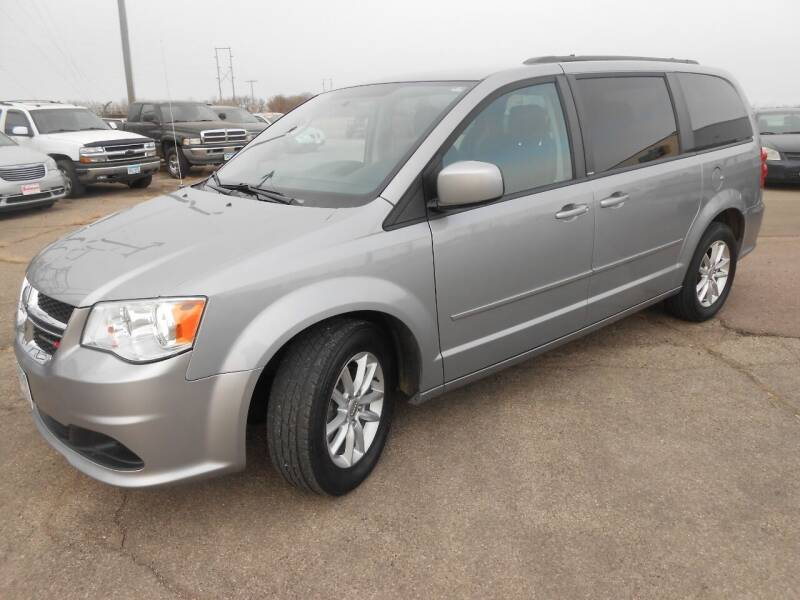 2014 Dodge Grand Caravan for sale at Salmon Automotive Inc. in Tracy MN