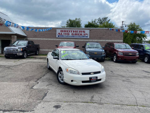 2007 Chevrolet Monte Carlo for sale at Brothers Auto Group in Youngstown OH