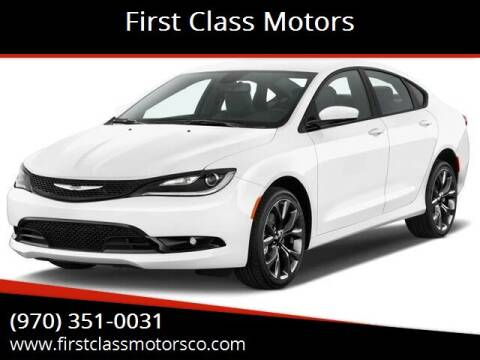 2015 Chrysler 200 for sale at First Class Motors in Greeley CO