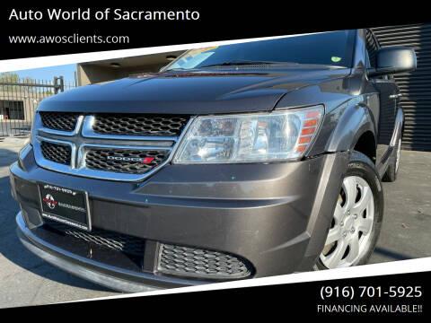 2014 Dodge Journey for sale at Auto World of Sacramento Stockton Blvd in Sacramento CA