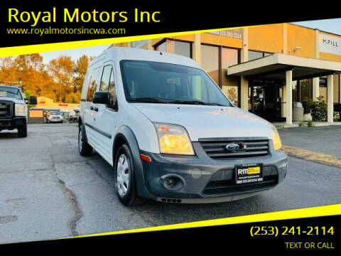 2010 Ford Transit Connect for sale at Royal Motors Inc in Kent WA