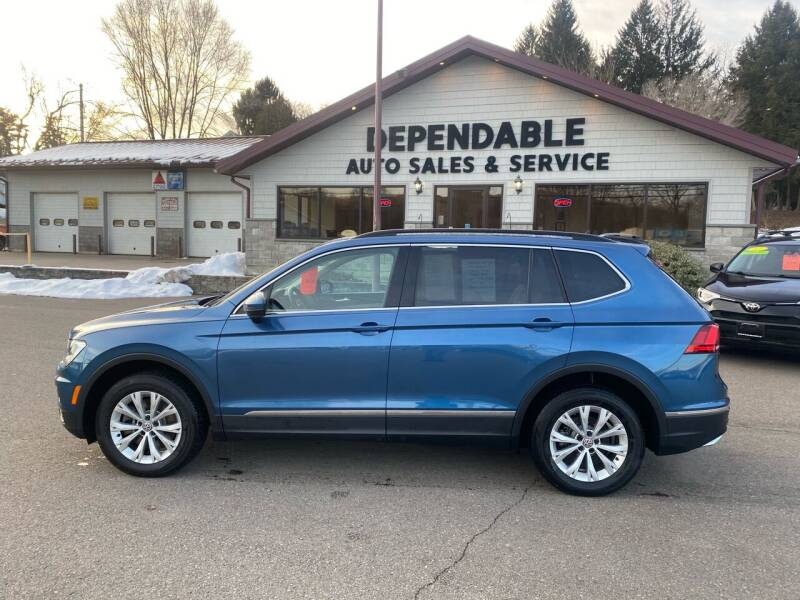 2018 Volkswagen Tiguan for sale at Dependable Auto Sales and Service in Binghamton NY