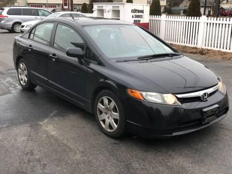 2007 Honda Civic for sale at Bricktown Motors in Brick NJ