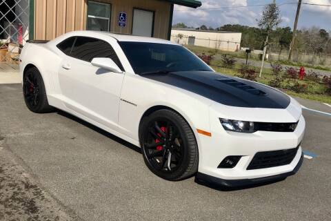 2015 Chevrolet Camaro for sale at Suncoast Sports Cars and Exotics in West Palm Beach FL