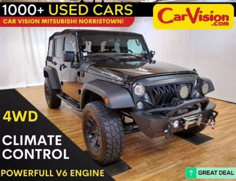 2018 Jeep Wrangler JK Unlimited for sale at Car Vision Buying Center in Norristown PA