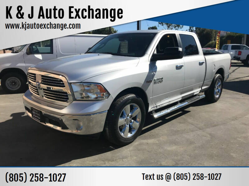 2014 RAM Ram Pickup 1500 for sale at K & J Auto Exchange in Santa Paula CA