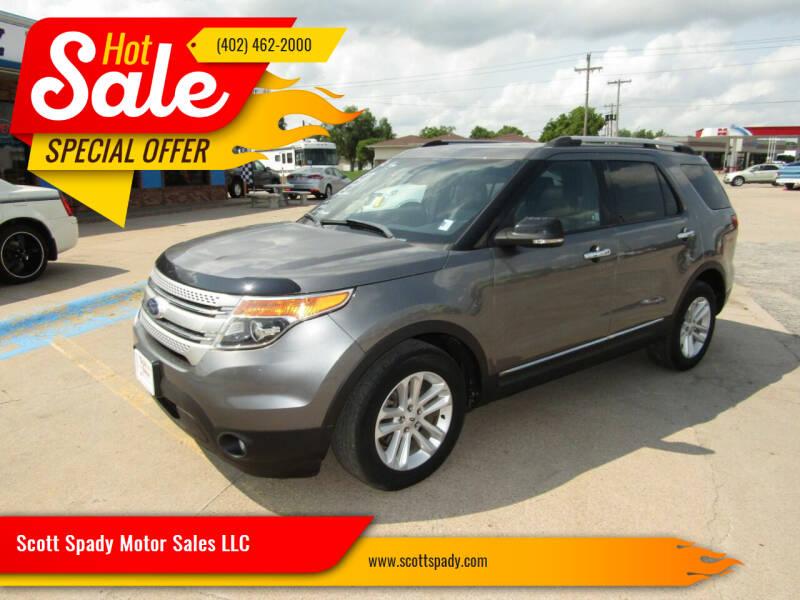 2012 Ford Explorer for sale at Scott Spady Motor Sales LLC in Hastings NE