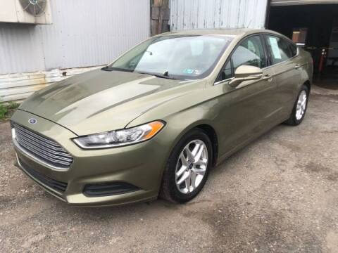 2013 Ford Fusion for sale at Philadelphia Public Auto Auction in Philadelphia PA