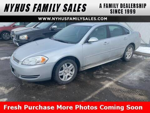 2014 Chevrolet Impala Limited for sale at Nyhus Family Sales in Perham MN