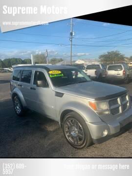 2011 Dodge Nitro for sale at Supreme Motors in Tavares FL
