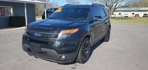 2014 Ford Explorer for sale at Jacks Auto Sales in Mountain Home AR