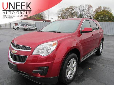 2015 Chevrolet Equinox for sale at Uneek Auto Group LLC in Burton MI