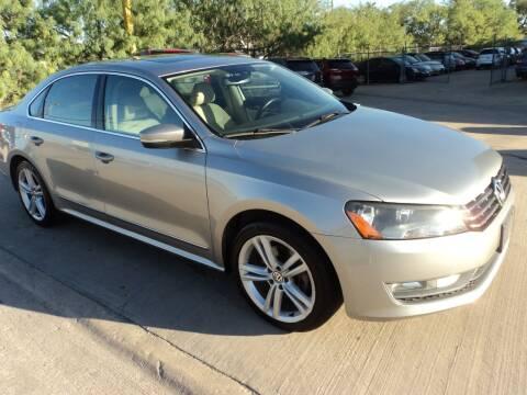 2014 Volkswagen Passat for sale at SPORT CITY MOTORS in Dallas TX