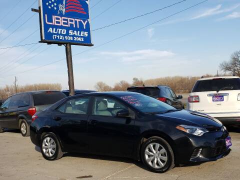 2015 Toyota Corolla for sale at Liberty Auto Sales in Merrill IA