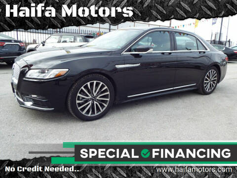 2019 Lincoln Continental for sale at Haifa Motors in Philadelphia PA