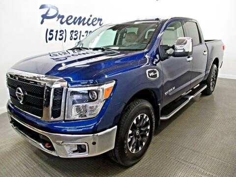 2017 Nissan Titan for sale at Premier Automotive Group in Milford OH