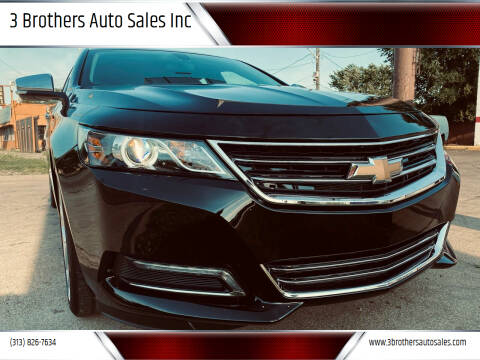 2019 Chevrolet Impala for sale at 3 Brothers Auto Sales Inc in Detroit MI