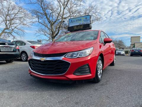 2019 Chevrolet Cruze for sale at All Star Auto Sales and Service LLC in Allentown PA