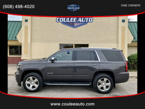 2015 Chevrolet Tahoe for sale at Coulee Auto in La Crosse WI