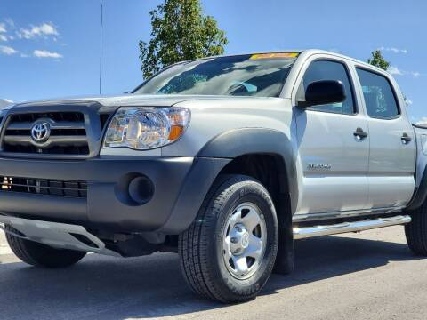 2009 Toyota Tacoma for sale at FRESH TREAD AUTO LLC in Springville UT
