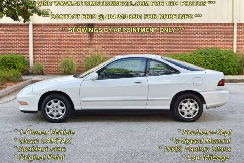 1996 Acura Integra for sale at Automotion Of Atlanta in Conyers GA