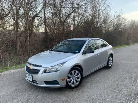 2012 Chevrolet Cruze for sale at Hatimi Auto LLC in Buda TX