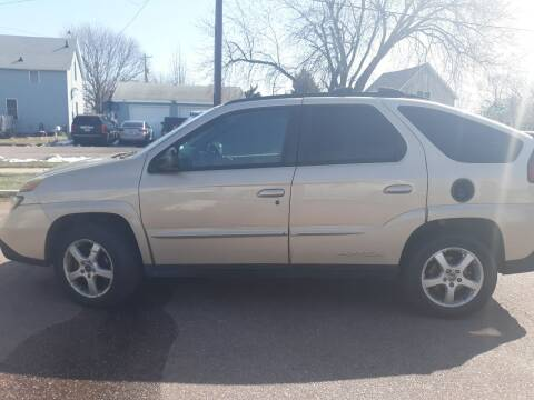 2004 Pontiac Aztek for sale at ZITTERICH AUTO SALE'S in Sioux Falls SD