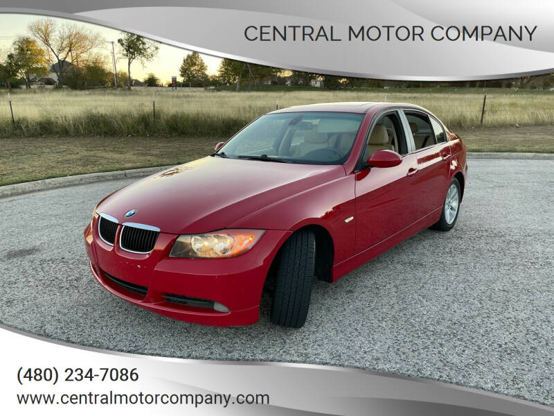 2007 BMW 3 Series for sale at Central Motor Company in Austin TX
