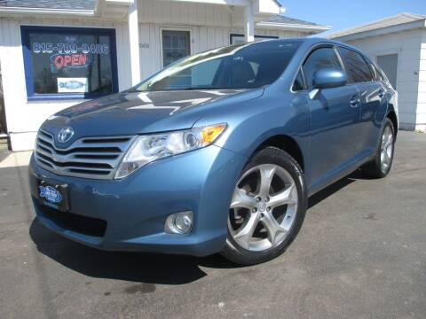 2010 Toyota Venza for sale at Blue Arrow Motors in Coal City IL