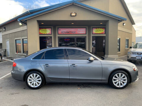 2013 Audi A4 for sale at Advantage Auto Sales in Garden City ID