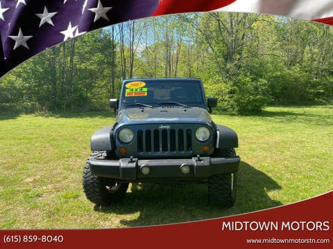 2007 Jeep Wrangler for sale at Midtown Motors in Greenbrier TN