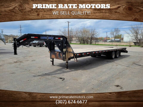 2013 Load Max 25' + 5' Dual Tandem for sale at PRIME RATE MOTORS in Sheridan WY