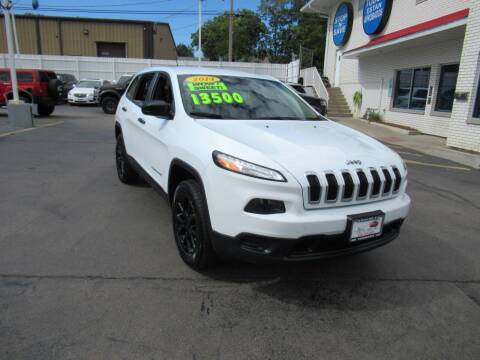 2014 Jeep Cherokee for sale at Auto Land Inc in Crest Hill IL