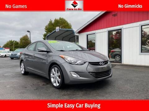 2013 Hyundai Elantra for sale at Cars To Go in Portland OR